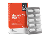 All In A Day vitaminas D3, 2000 TV Wellneo